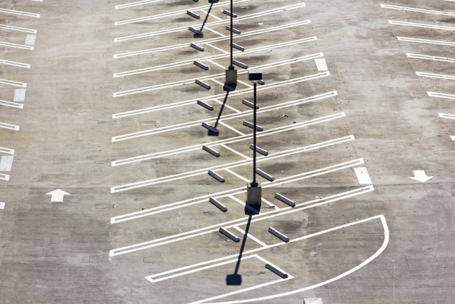 Parking Lot Striping: Straight or Angled?