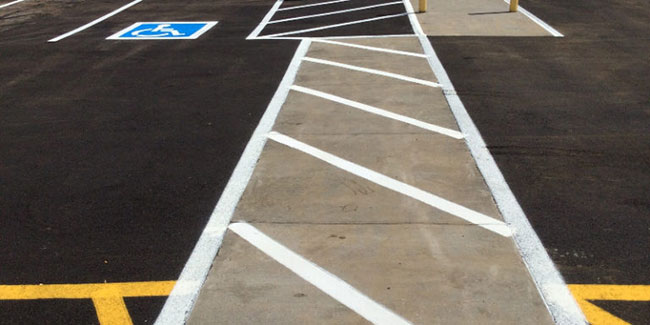 Pavement Markings to Get Your Establishment Up to Code